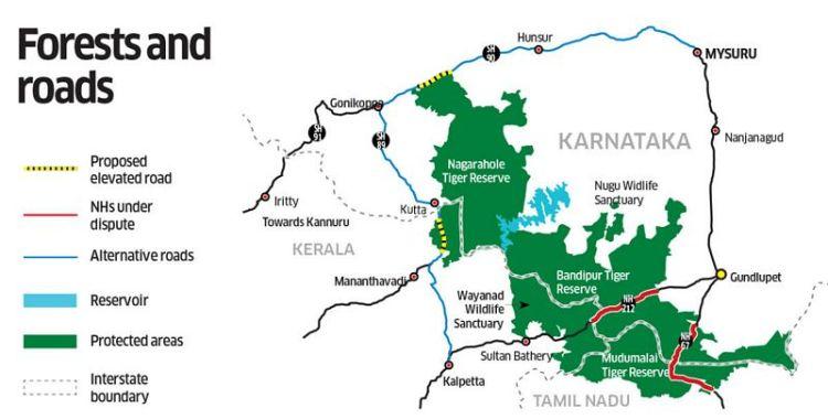 Karte Bandipur