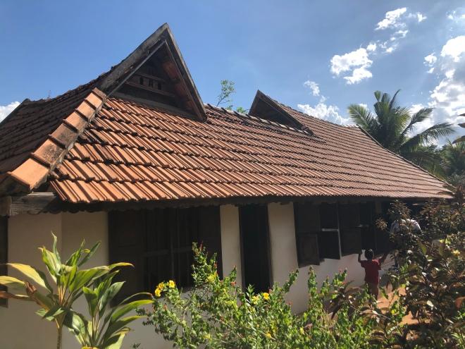 Typisches Keralahaus