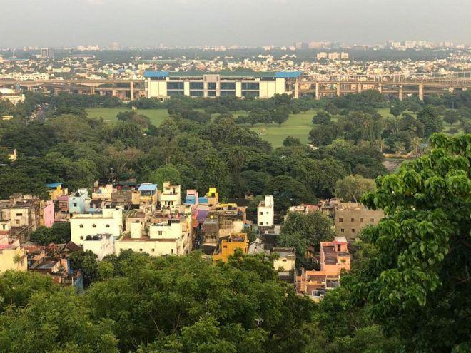 Aussicht auf den Sueden von Chennai