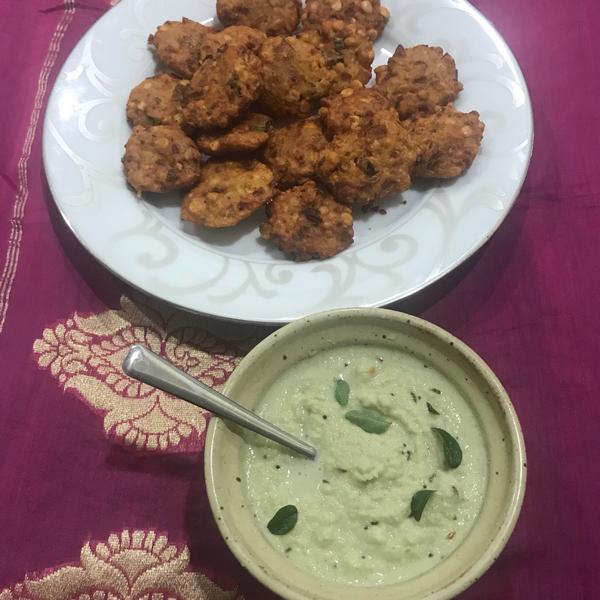 Masala Vadai mit Kokoschutney